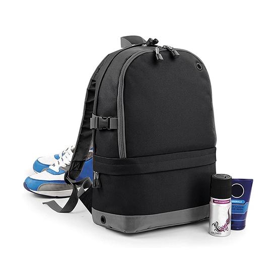 Sport rugzak zwart 18 liter
