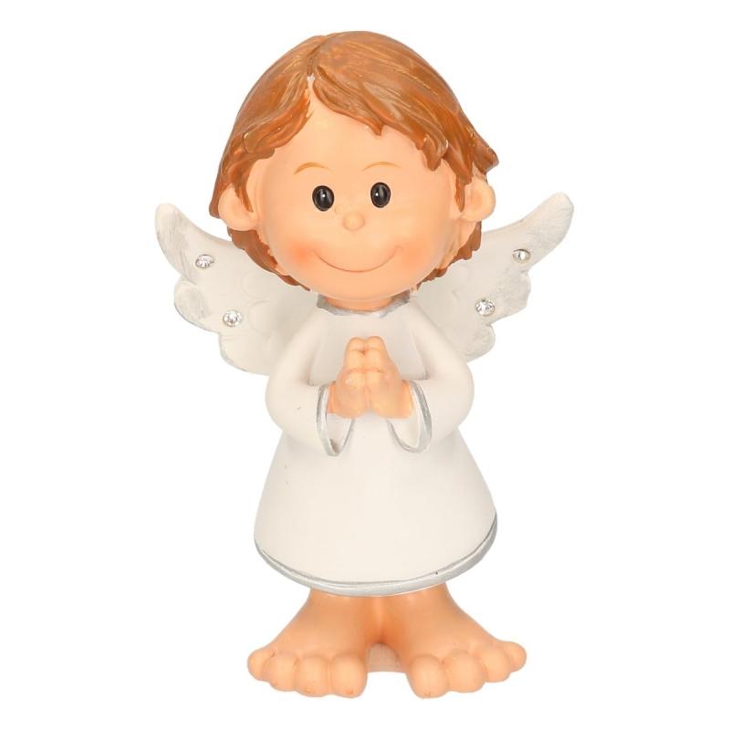 Staand engeltje biddend 10 cm