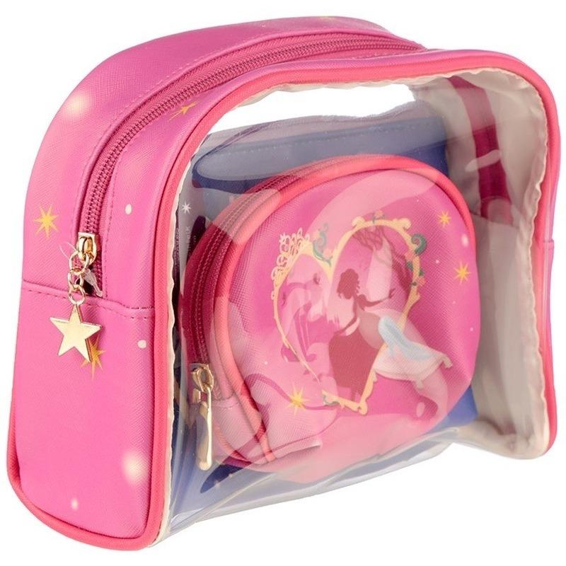 Toilettas-make-up tassen set prinses voor kinderen