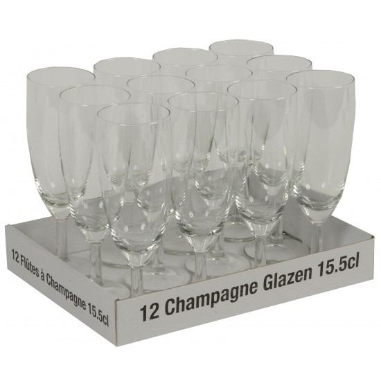 Trouwfeest champagneglazen