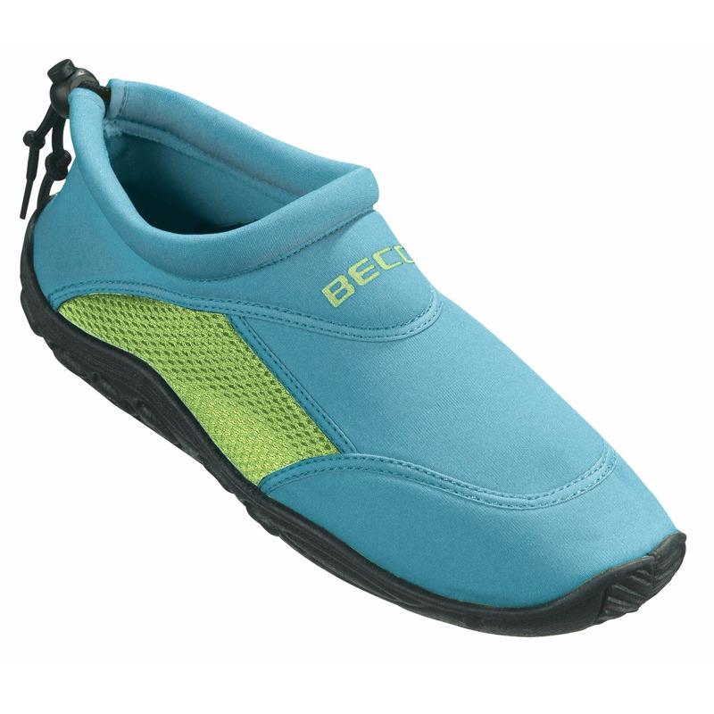 Turquoise-groen waterschoenen- surfschoenen volwassenen