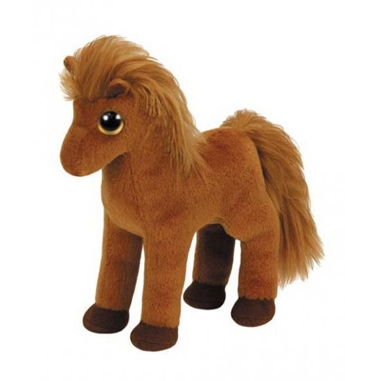 |Dieren knuffels Ty Beanie Ty Beanie knuffel paard 15 cm