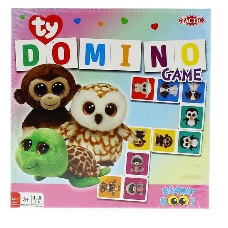 Ty Beanie speelgoed domino spel