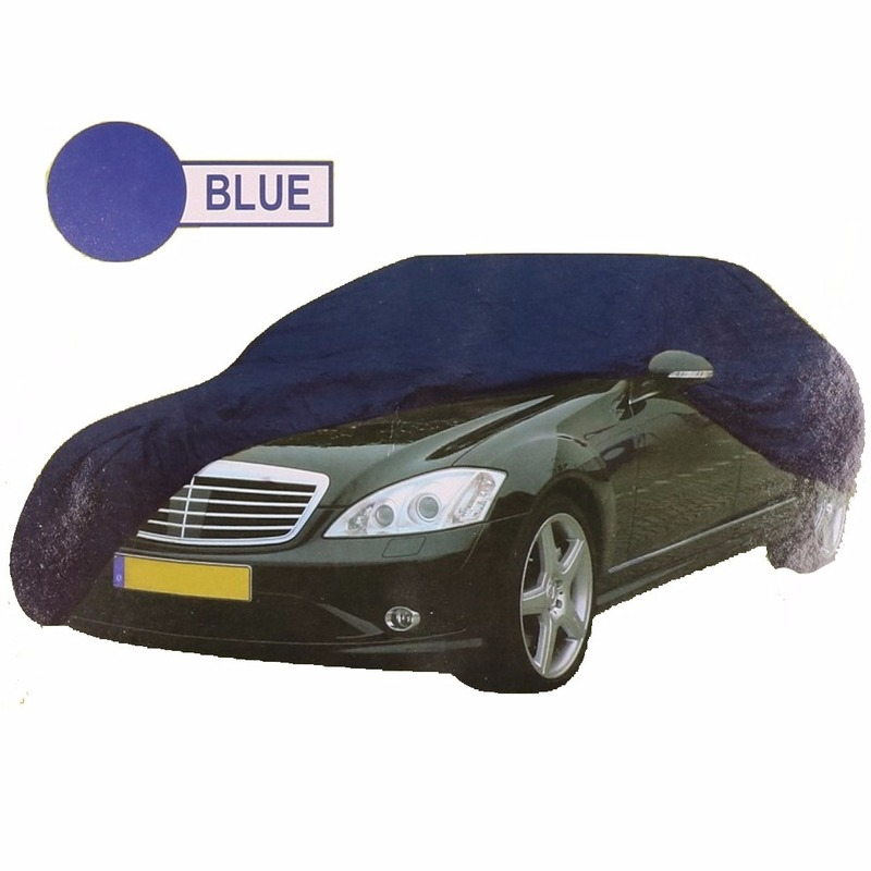 Outdoor Vakantie Geen Universele auto beschermhoes XL blauw