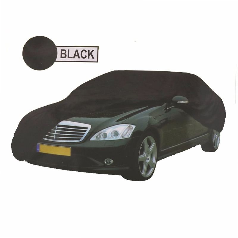 Universele auto beschermhoes XL zwart 534 x 178 x 120 cm