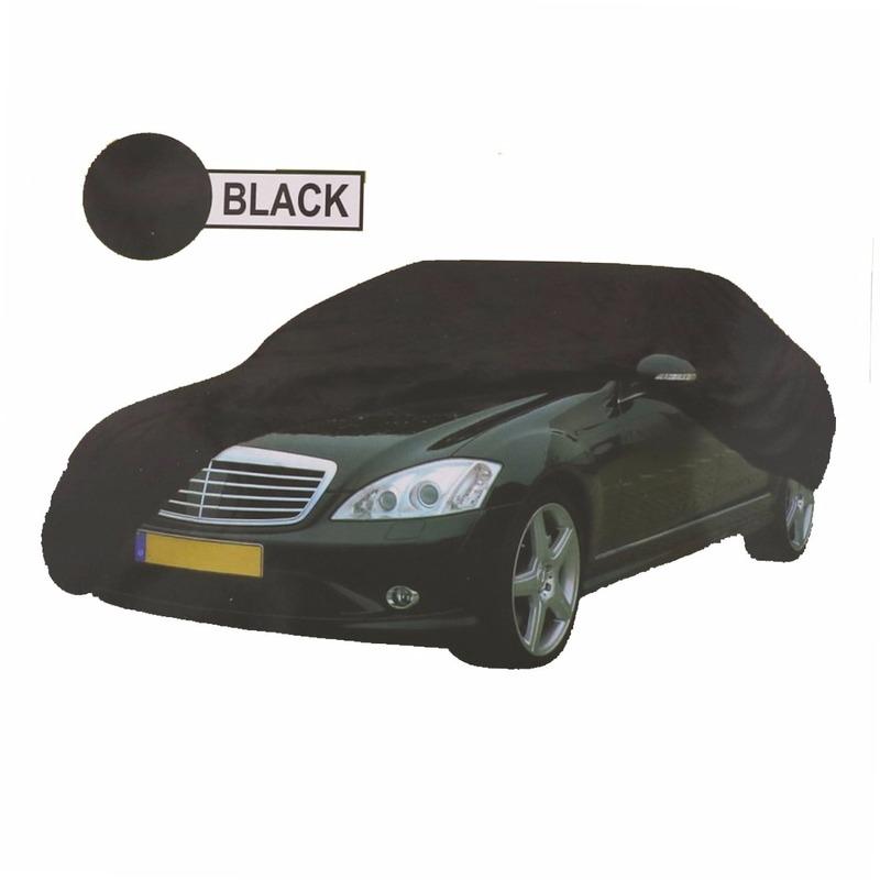 Universele auto beschermhoes XL zwart Geen Outdoor Vakantie