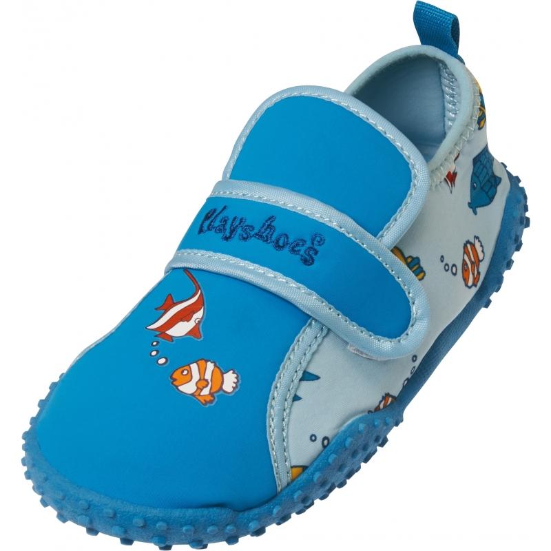 UV waterschoenen blauw vissen voor kinderen