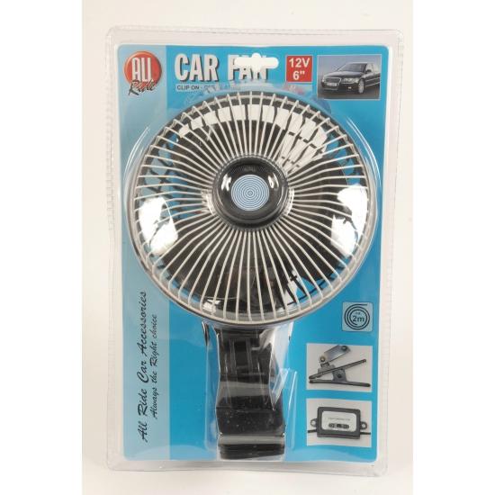 Ventilator voor op reis 12V All ride Het leukste