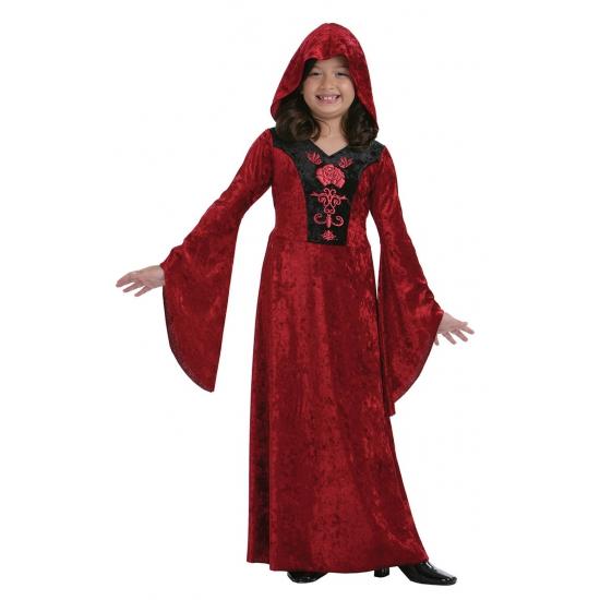 Verkleedkleding vampier jurkje voor meisjes