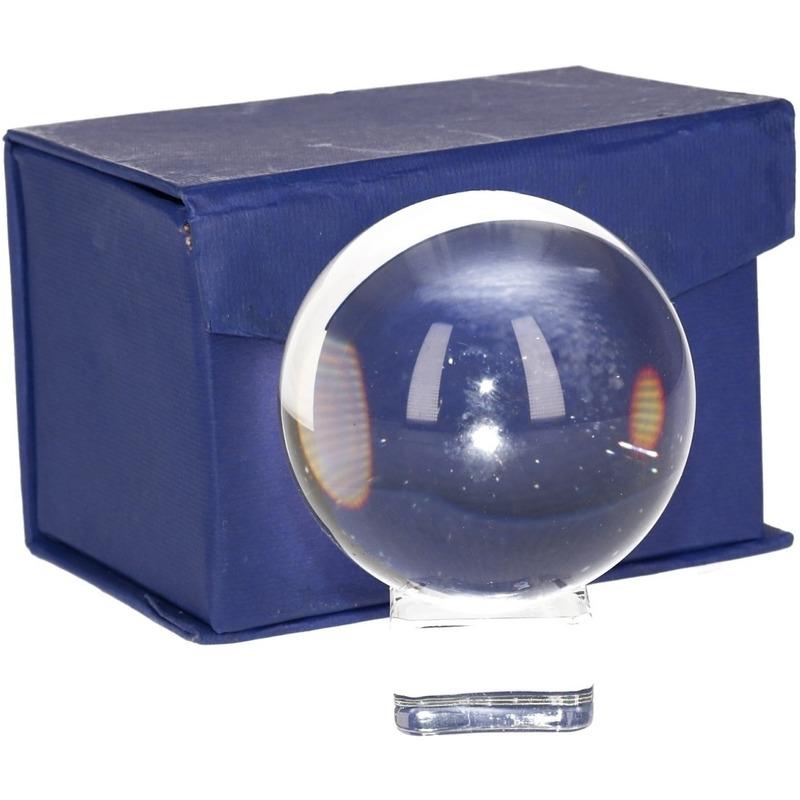Waarzegsters deco glazen bol 6 cm