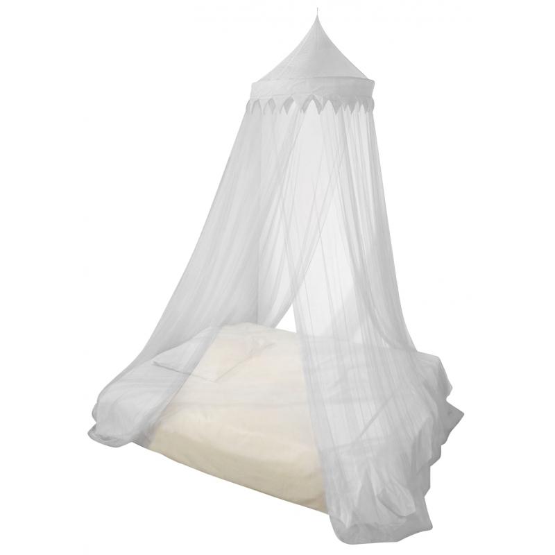 Woonaccessoires Capshopper Witte klamboe 1 of 2 persoons voor op de kinderkamer
