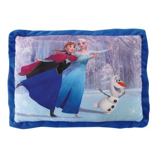 Zacht kinderkamer Frozen kussen 29 x 43 cm