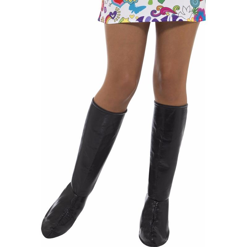 Zwarte laarshoezen voor dames